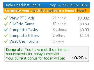 Clixsense trucos para bonus diario