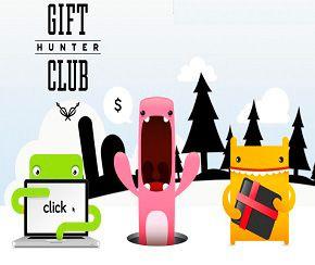 Ganar dinero y premios en Gift Hunter Club