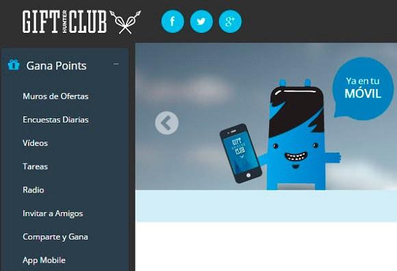 Ganar regalos gratis con la nueva interfaz de GHC