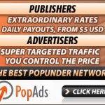 PopAds – Primer pago recibido