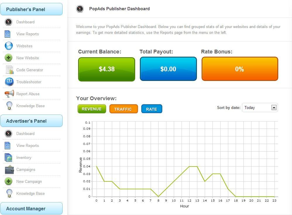 PopAds - Gana dinero con tu web o blog