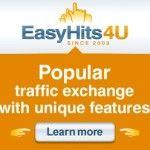 EasyHits4U: Consigue referidos y visitas gratis