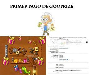 Premio de 5 euros en Gooprize