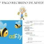 Quinto pago recibido de Adfly