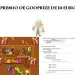 Segundo pago de Gooprize: 10€ por PayPal