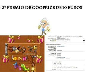 segundo pago de Gooprize