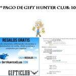 Segundo pago de Gift Hunter Club
