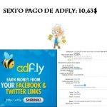 Sexto pago de Adfly: Empezando bien el año