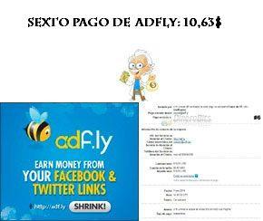 Sexto pago de Adfly