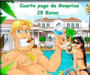 Cuarto pago recibido de GooPrize