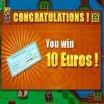 Quinto pago de GooPrize: Nuevo premio de 10 euros