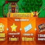 Octavo y noveno pago de Gooprize: 140€ por Paypal