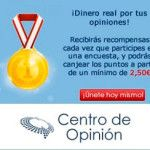 Centro de Opinión paga en 2014: 4,50€ por Paypal