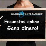 GlobalTestMarket: Encuestas remuneradas por Internet