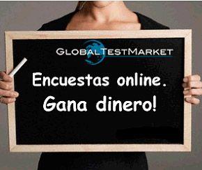 Ganar dinero con GlobalTestMarket