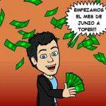 Primeros pagos Junio 2014: 135,91$ por Paypal
