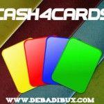 Nuevos valores en Cash4Cards y pago de 366$