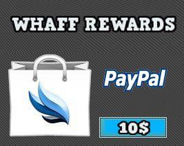 Ganar dinero con Whaff Rewards
