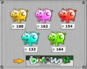 Como ganar dinero con los 100 cerditos en Dripwin