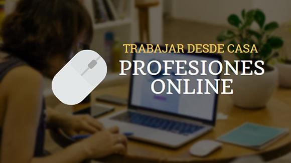 Trabajos y profesiones online