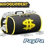 Primer pago de InnoCurrent: 10$ recibidos por PayPal