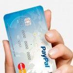 Tarjeta PayPal: Actualizado. No está disponible