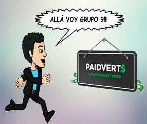 Tercer pago de PaidVerts