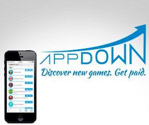 Appdown, aplicación para ganar dinero y premios con Android