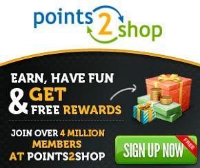 Ganar dinero y premios con Points2Shop