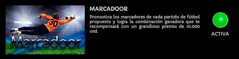 Competición Marcadoor en Triunfador
