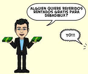Ganar dinero con referidos rentados en DebadiBux