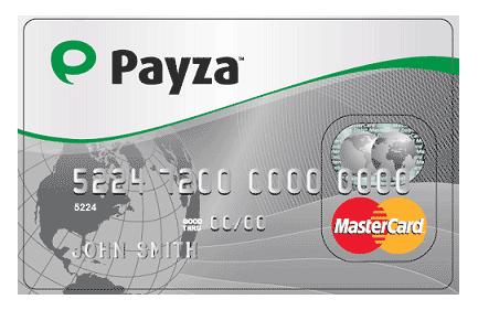 MasterCard de Payza