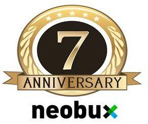 Séptimo aniversario de Neobux