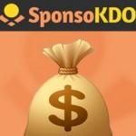 Primer pago de SponsoKDO: 32$ por PayPal