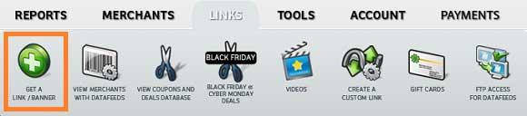 Obtener enlaces y códigos de campañas en ShareASale