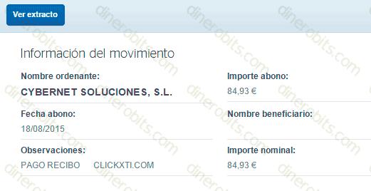 ClickXti sigue pagando en 2015