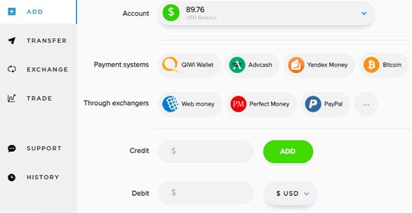 Cómo añadir dinero a Payeer