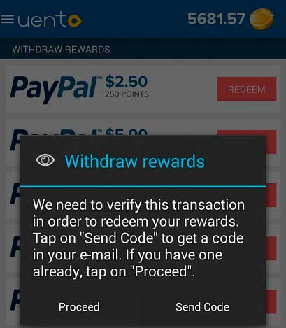 Segundo pago de Uento por PayPal