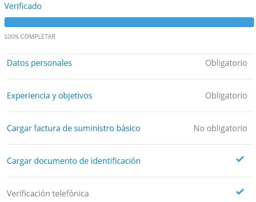 Tutorial de cómo verificar la cuenta de eToro