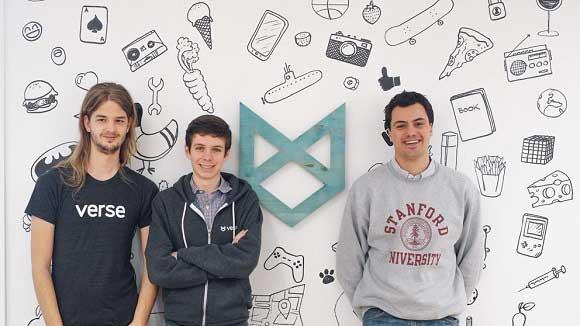 Fundadores de la app Verse