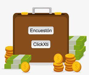 Pagos de ClickXti y Encuestón