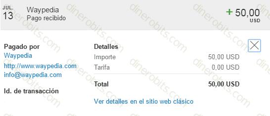 10º pago de Uento por PayPal