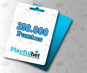 5 premios de 50.000 puntos para Playfulbet