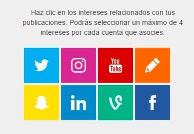 Como añadir tus redes sociales en SocialPubli