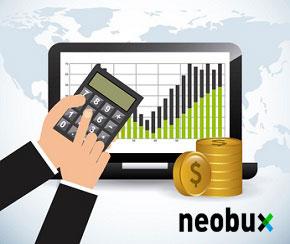 Tabla de costes en Neobux con los rentados
