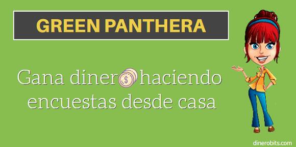Encuestas pagadas Green Panthera