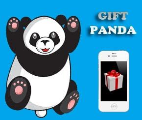 GiftPanda paga por Paypal