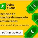 Opine y Gane: Hasta 2€ por encuesta de forma gratuita