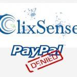 PayPal bloquea la cuenta de ClixSense para siempre