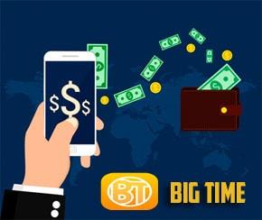 Big Time paga por PayPal